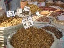 Kräutermarkt Chengdu